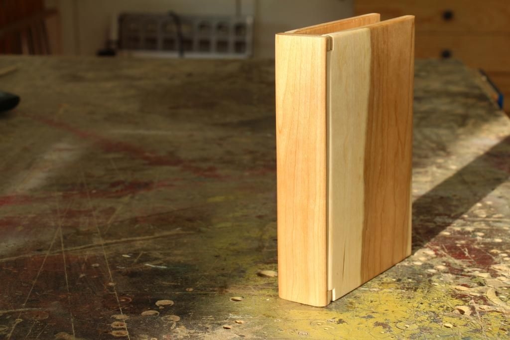 Wooden book keepsake box | WWMM small woodworking projects | Wooden
