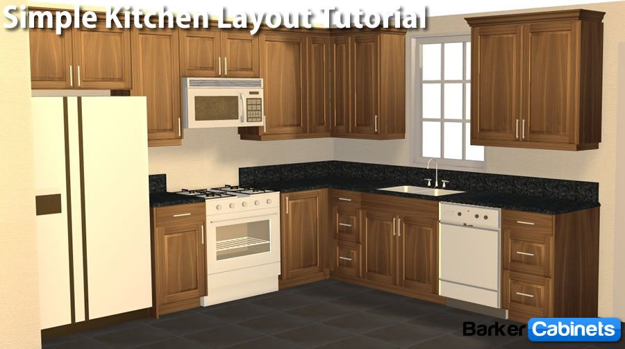 Baker boys cabinet builder good prices kitchen layout for Simple kitchen cabinet designs