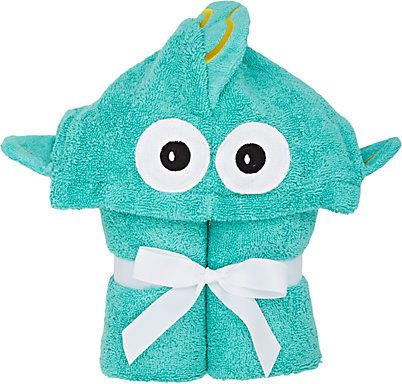 Yikes Twins Tropical Fish Hooded Towel Hooded Bath