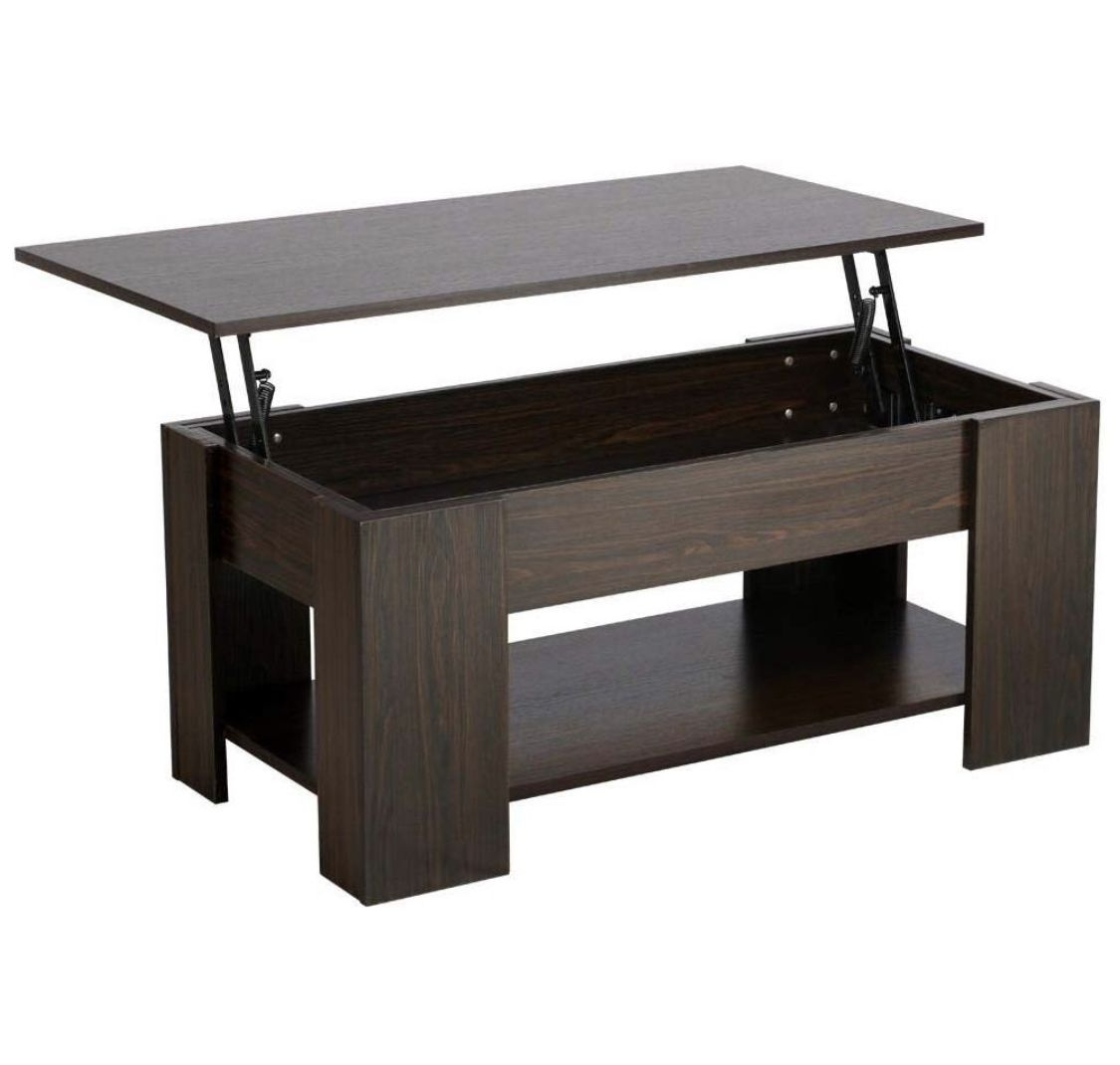Amazon Home Decor Ideas Kenda Martin In 2020 Coffee Table Coffee Table With Hidden Storage Modern Shelving [ 1070 x 1125 Pixel ]