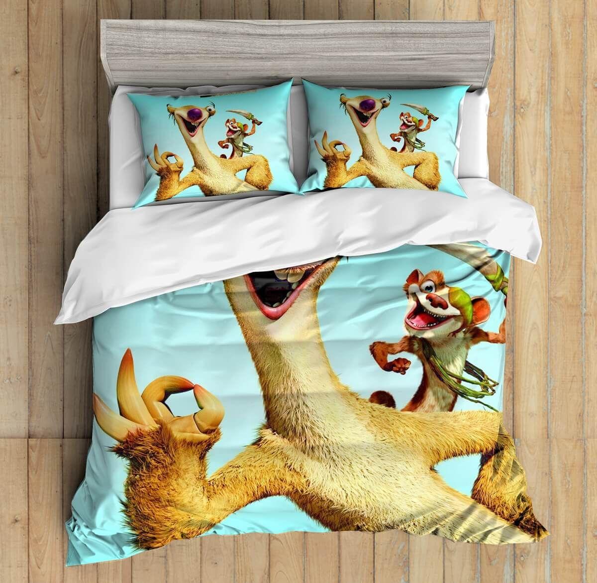 Custom Ice Age Bedding Set Duvet Cover Bedroom