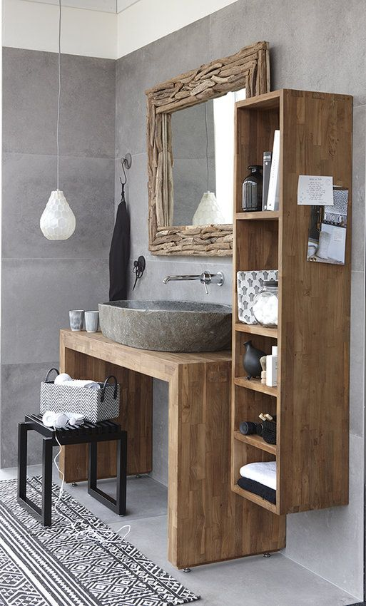 teak-meubel.jpg | badkamer | Pinterest | Interiors, House and Bath