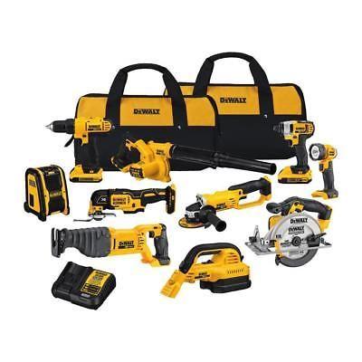 power tool sets 177000: dewalt dck1020d2 20v max lithium-ion ...
