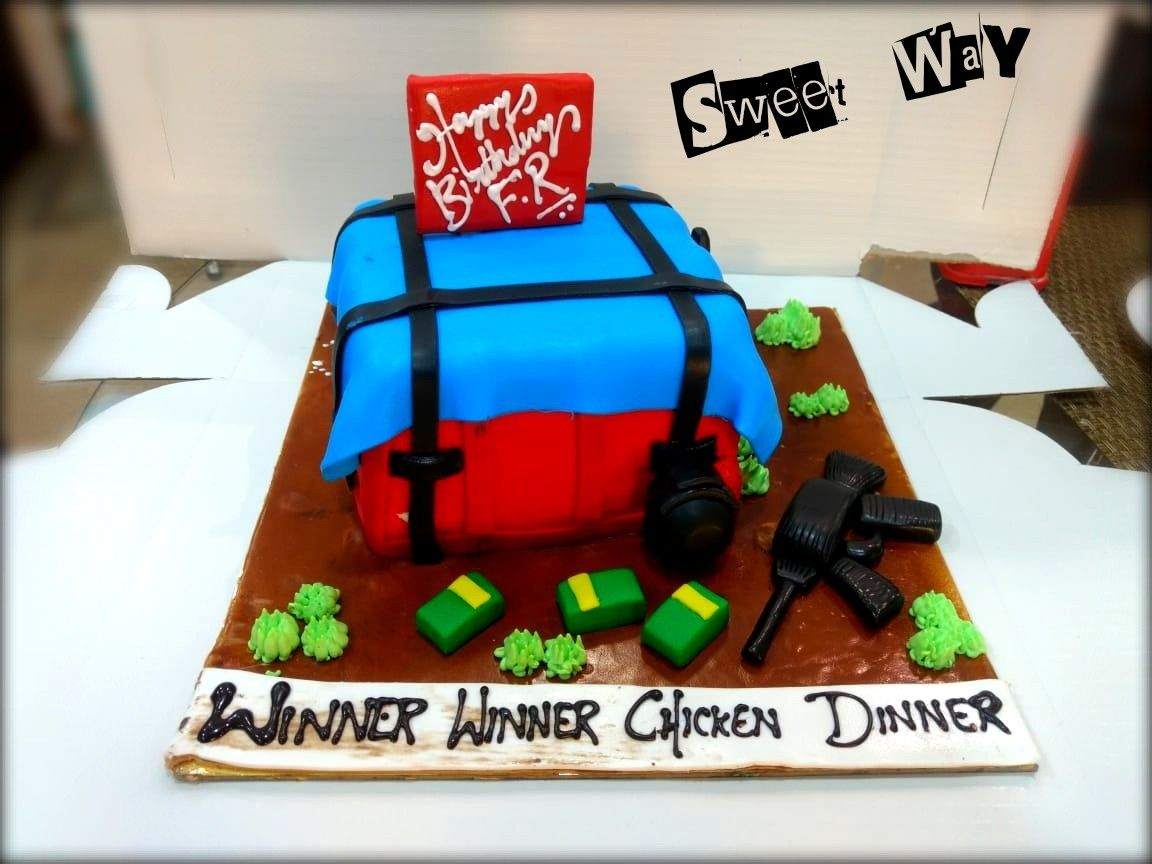 Pubg Theme Cake Just Dream A Cake And We Bring Into Life Sweet