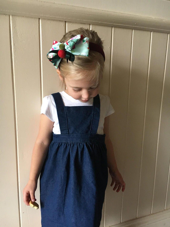 8935a7463f99a Girls winter pinafore dress, pinny, layer dress, Custom Made   Sew ...
