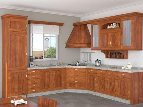 Armario de cocina dise o de cocina pinterest - Ver muebles rusticos ...