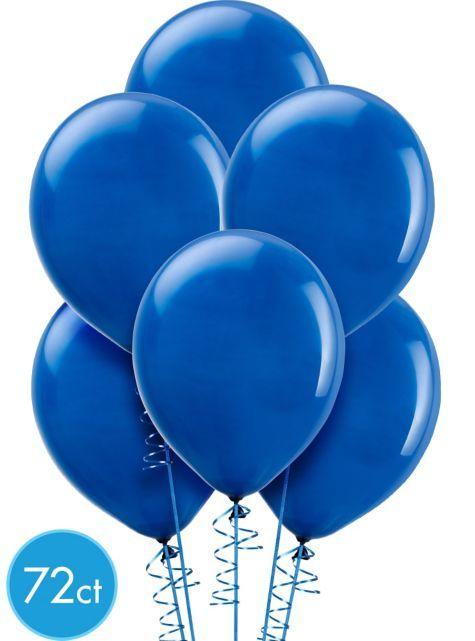 Royal Blue Balloons 72ct