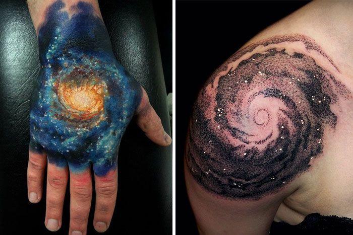 black hole tattoo - Google Search   Cosmic tattoo ...