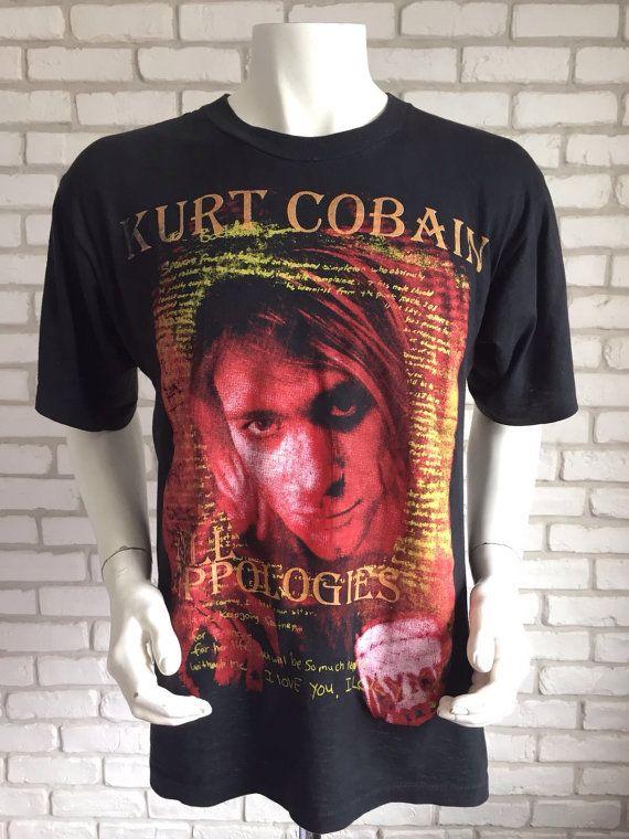 musician rock Woman Nirvana Kurt Cobain t-shirt Pop Gift Man music