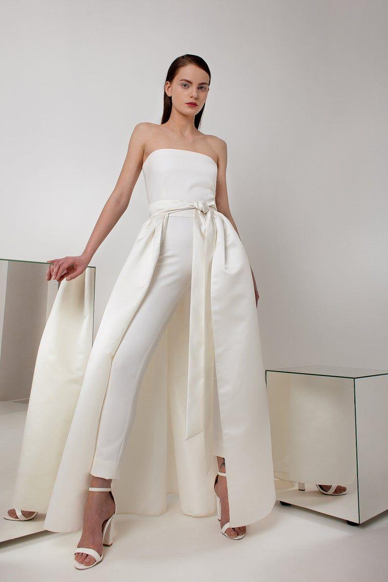 30++ White wedding suit dress info