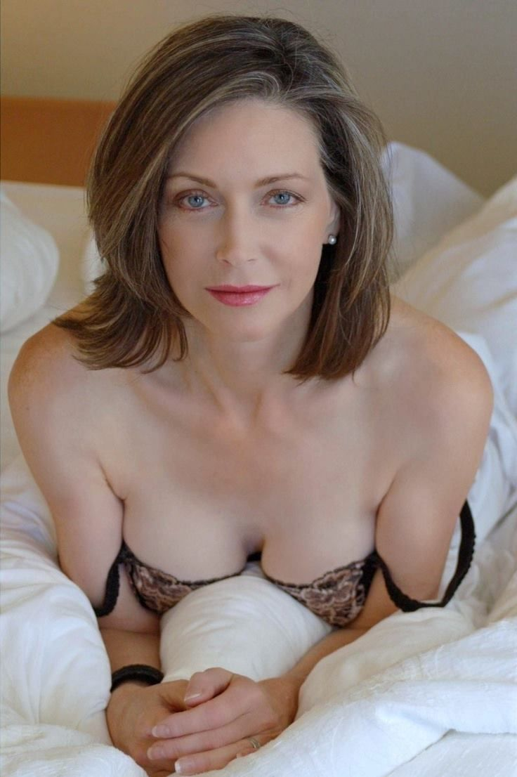 naughty on bed milf Hot