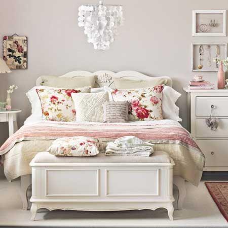 Decora o shabby chic para quarto casa interiores artes em geral - Dormitorios vintage chic ...