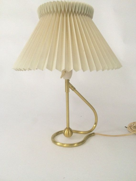 Danish mid century modern lamp by kaare klint for le klint model le klint no 306 kip lamp designed by kaare klint in 1945 with its tilt function obtains