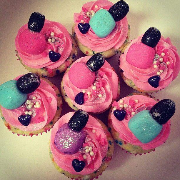 Nail Cakes Bakery: Nail Polish AND Cupcakes. :)