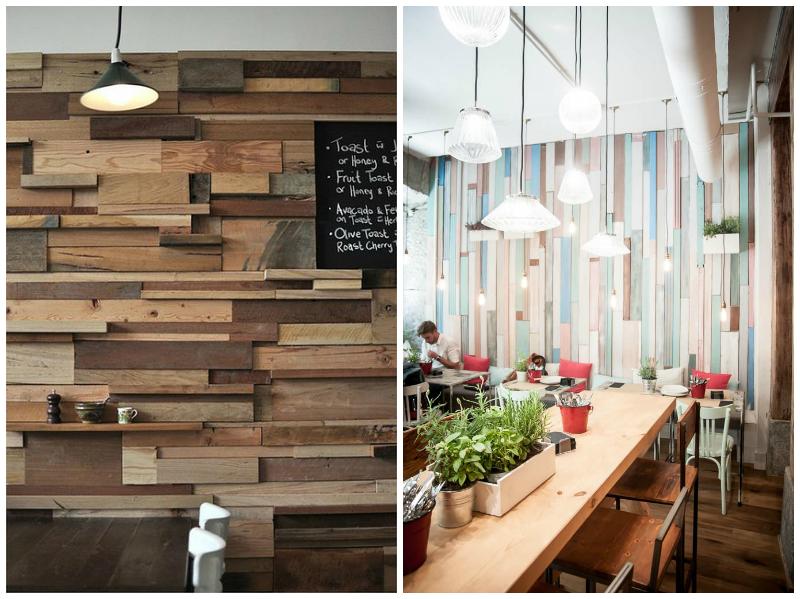 Muros de palets o madera reciclada la bici azul blog de for Decoracion con madera reciclada
