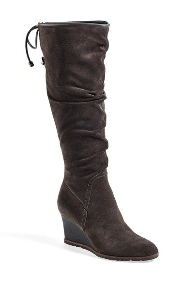 Black Franco Sarto Women'S Dominion Wide Shaft