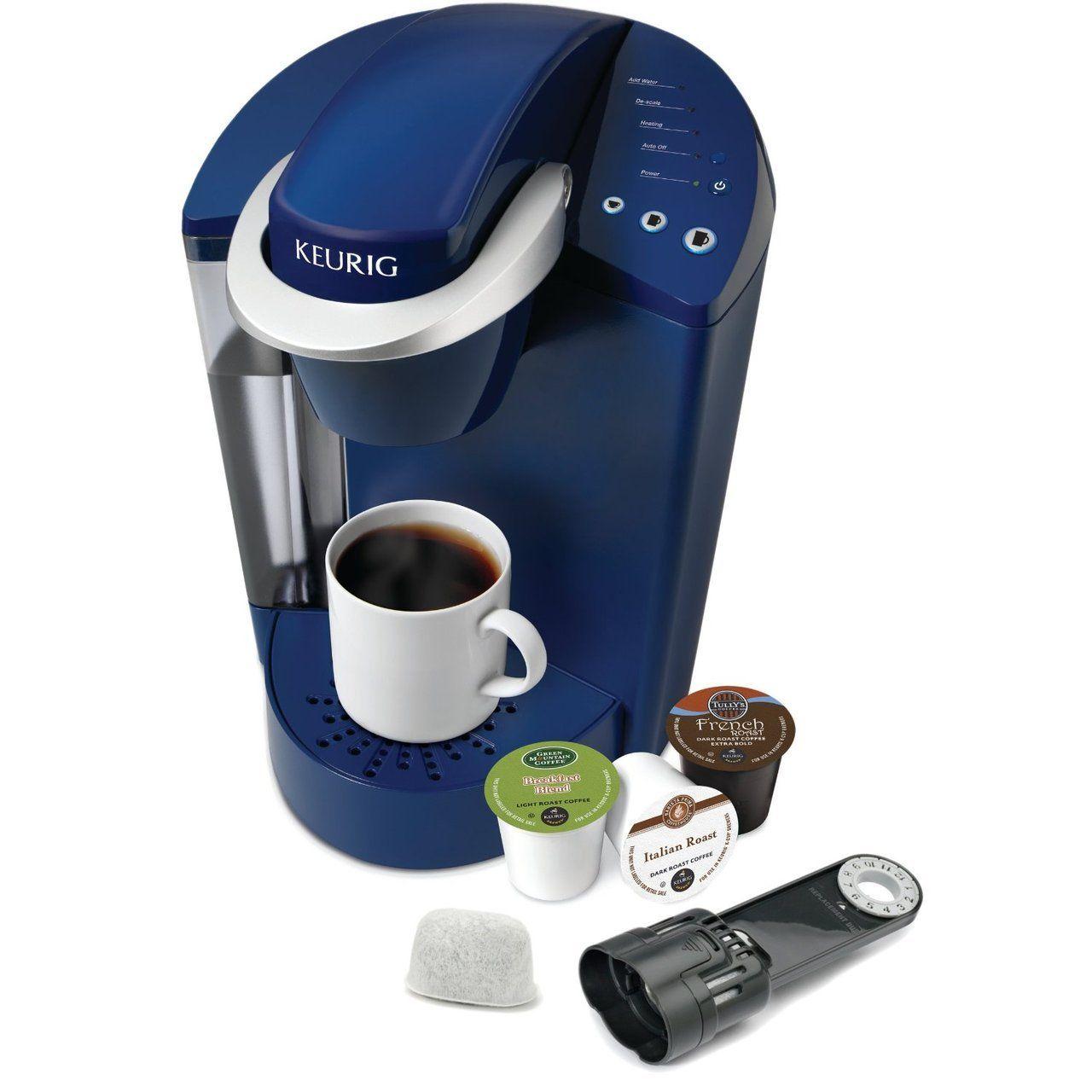 Keurig K45 Elite Brewer Coffee Maker Blue 99 95 Total Cost Best