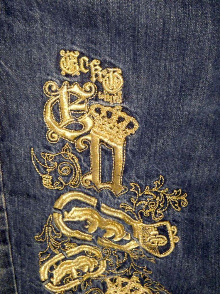 Mark Ecko Jeans 40 Kings of Creativity 40x32 Baggy Loose Urban Hip Hop Gold   MarcEcko  BaggyFit 92084344d