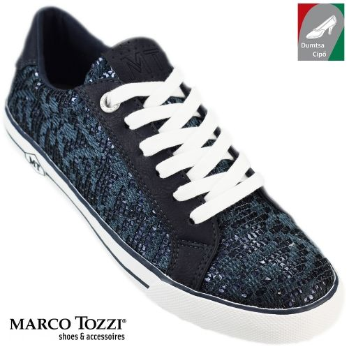 Marco Tozzi női cipő 2-23601-28 805 kék kombi  0862450989