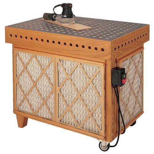 Downdraft table hardware kit and plan rockler garage stuff downdraft table hardware kit and plan rockler greentooth Gallery