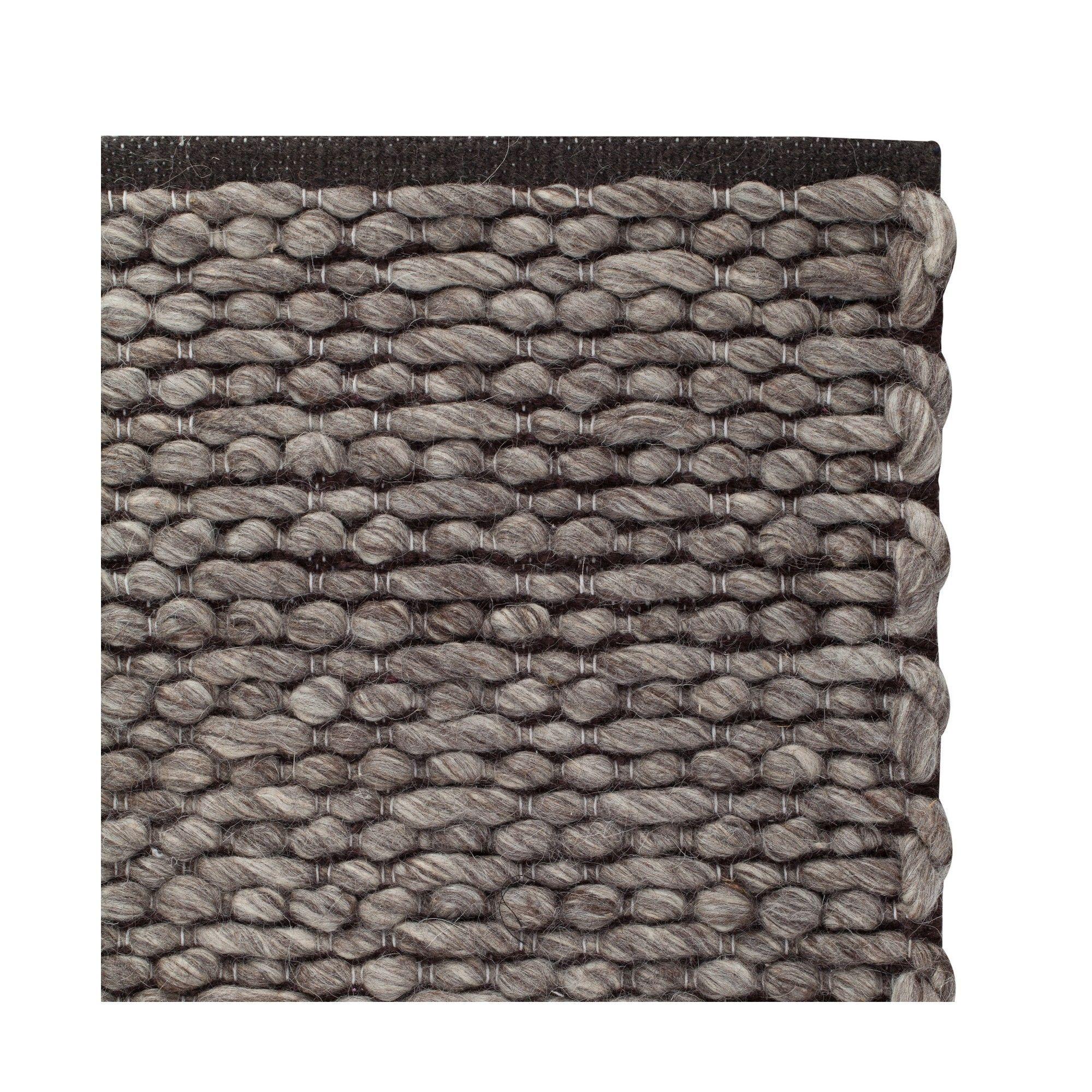 Kamet Wool Cotton Rug Grey Off White