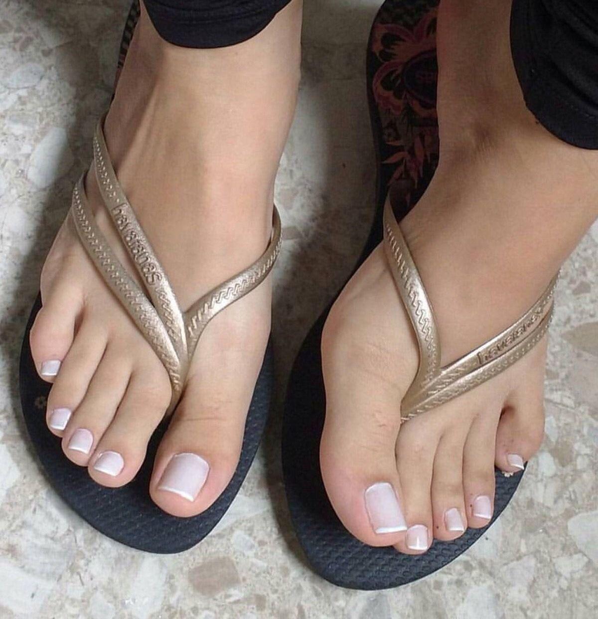 Feet pics female At Her