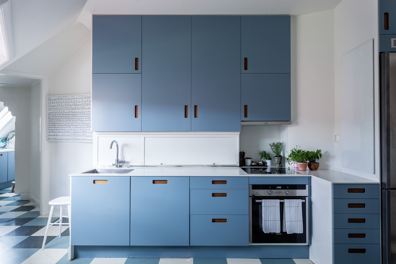 blue kitchen.. | Home decor & architecture | Pinterest | Kitchens ...