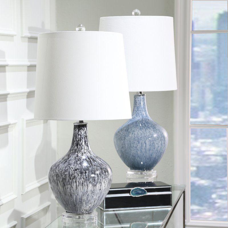 Burkhardt Teardrop 28 Table Lamp Table Lamp Black Table Lamps Lamp