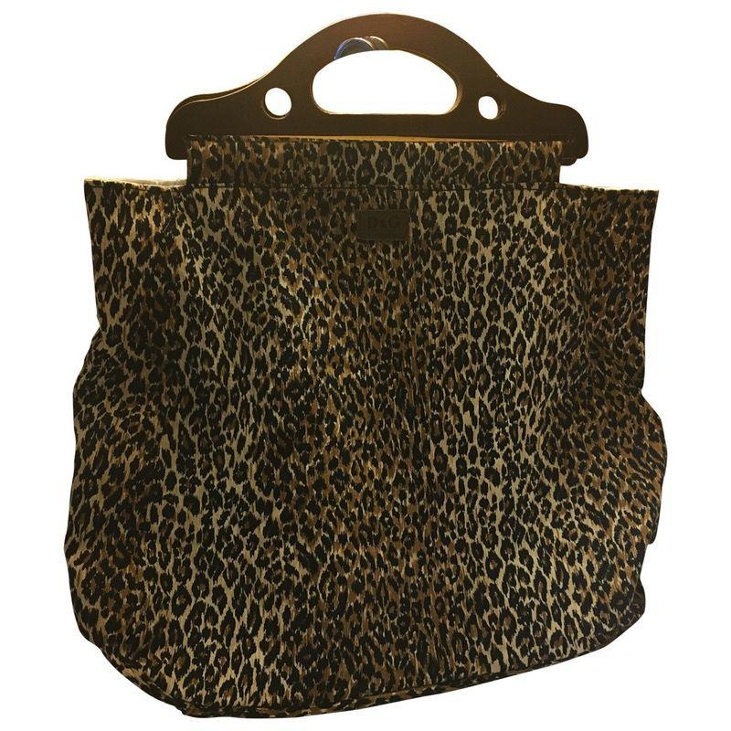 multicolour Leopard Cotton D&G Handbag - Vestiaire Collective