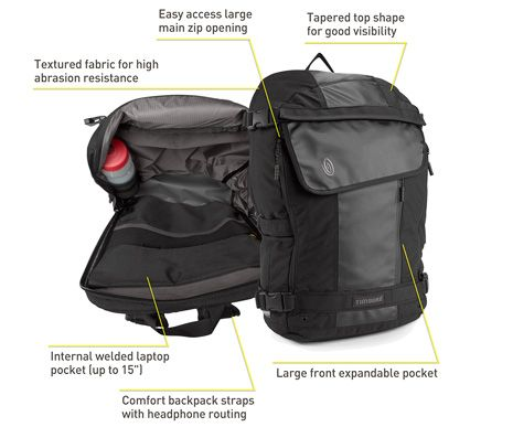 Especial Medio Cycling Laptop Backpack   Backpacks