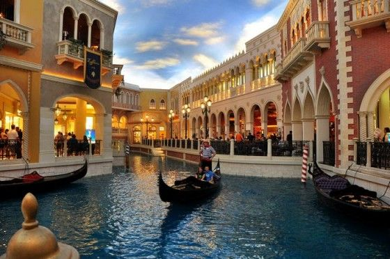 Grand Canal Shoppes at The Venetian
