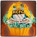 Manchester City giant cupcake