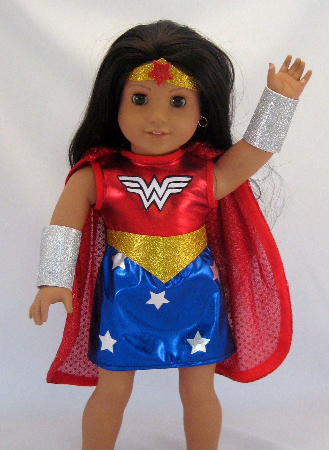 Doll Clothes Wonder Woman Costume fits American Girl or other 18 ...