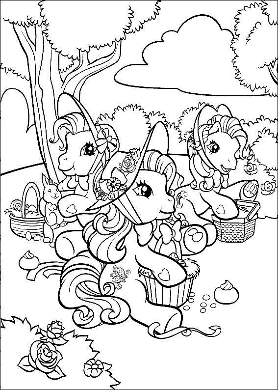 Dibujos para Colorear Mi pequeño Pony 14 | Dibujos para colorear ...