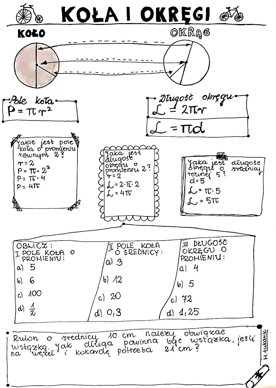 Kola I Okregi Education Math Study Notes School