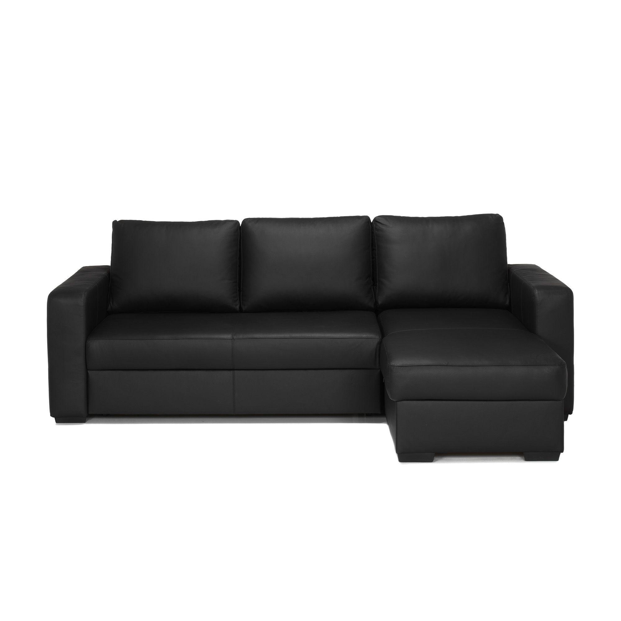 Canapé Cuir Dangle Réversible Et Convertible Alinn