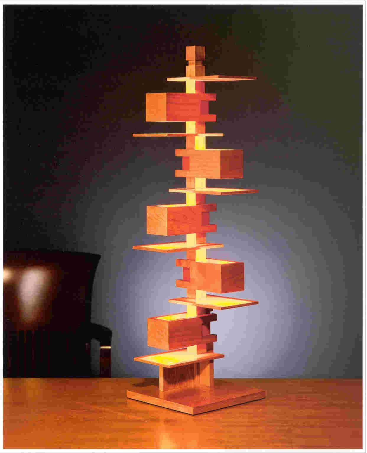 Frank Lloyd Wright Desk Lamp