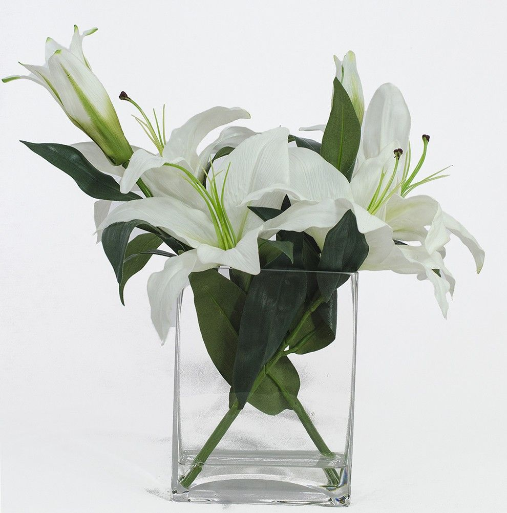 Casablanca Lily Flower Arrangements This Would Be Good For Amazon