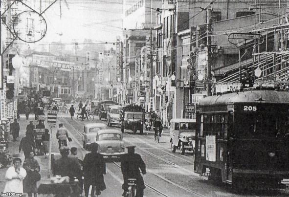 1958年】石川県(昭和33年)▷金沢・片町通   1958年 昭和33年   金沢 ...