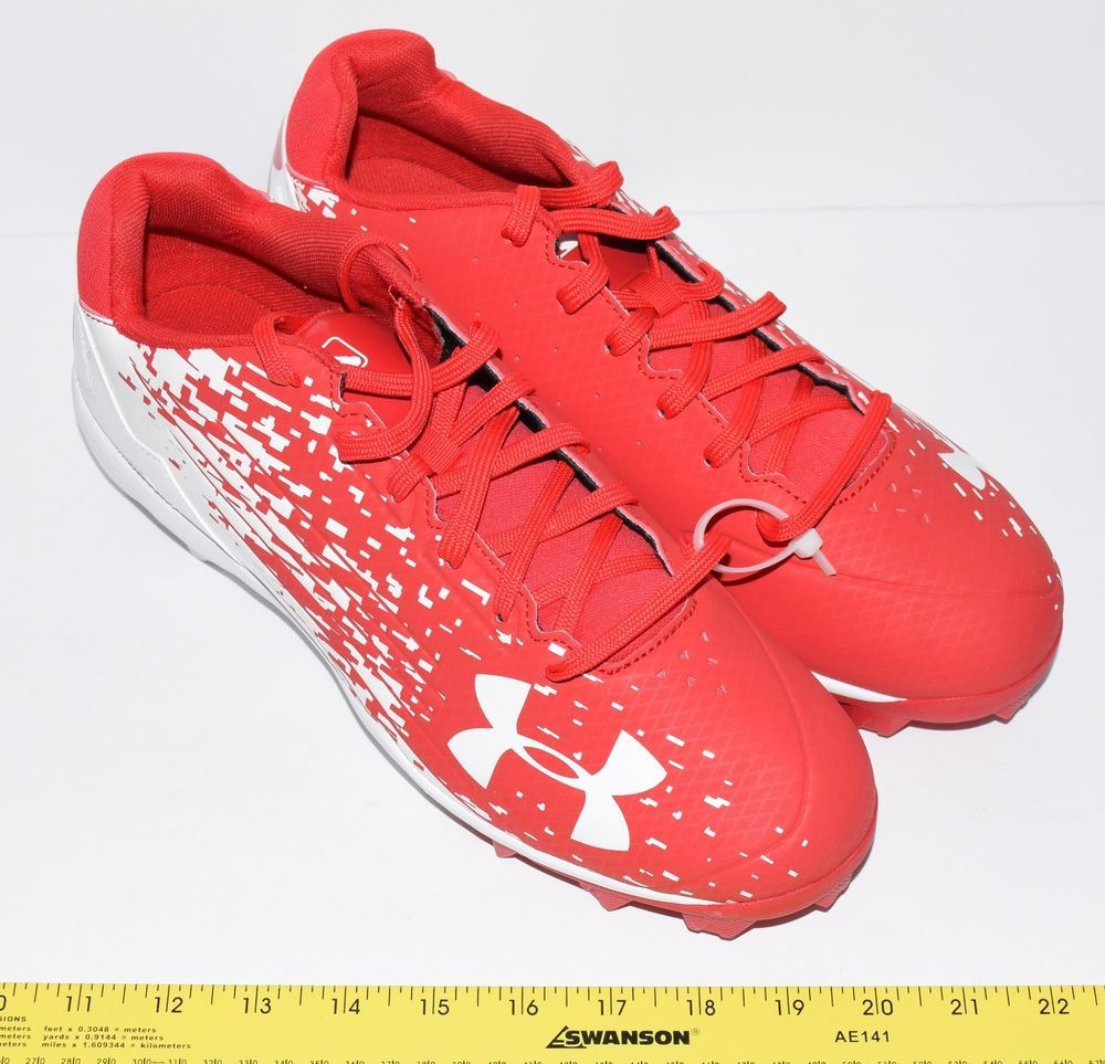 best service 630ae f3ec8 Mens Under Armour Leadoff Low RM Baseball Cleats - style 1278744-611 sz  11 12 (eBay Link)