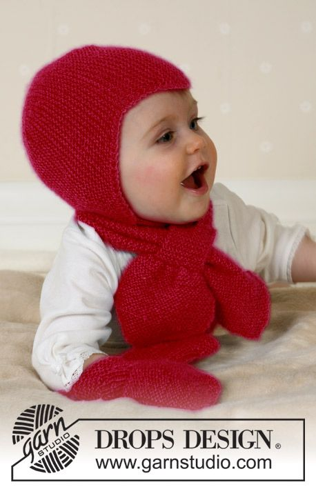 Photo of Baby Aviator Hat / DROPS Baby 14-16 – Kostenlose Strickanleitungen von DROPS Design
