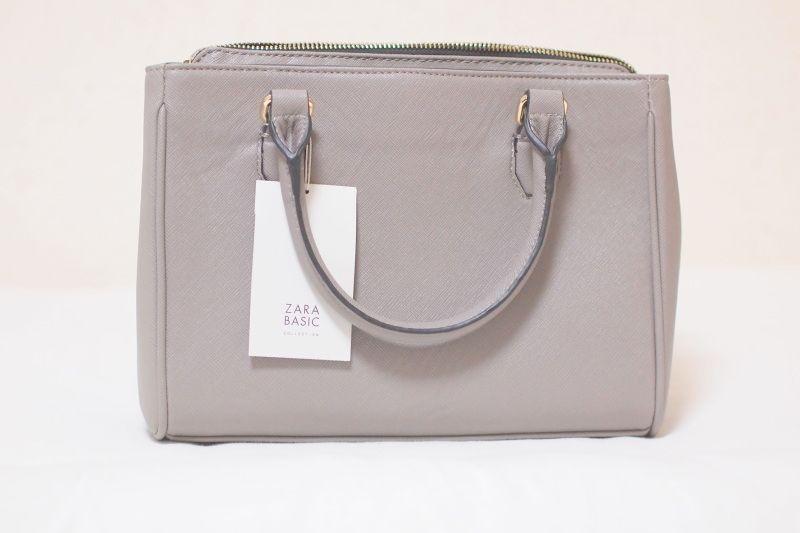 ZARA Women grey bag|Je m'aime☆*. #jemaime