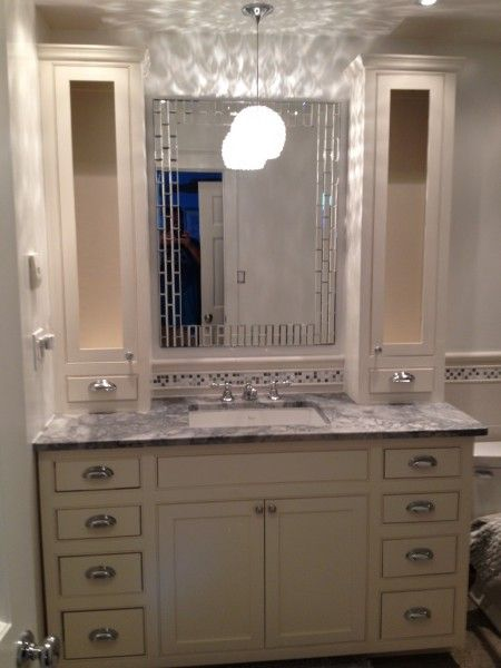 beaded vanity with towers - kreg owners' community | mama's