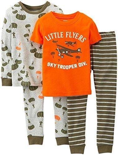 25e4e6d5e Carter s 4-pc. Airplane Pajama Set - Boys 6m-24m