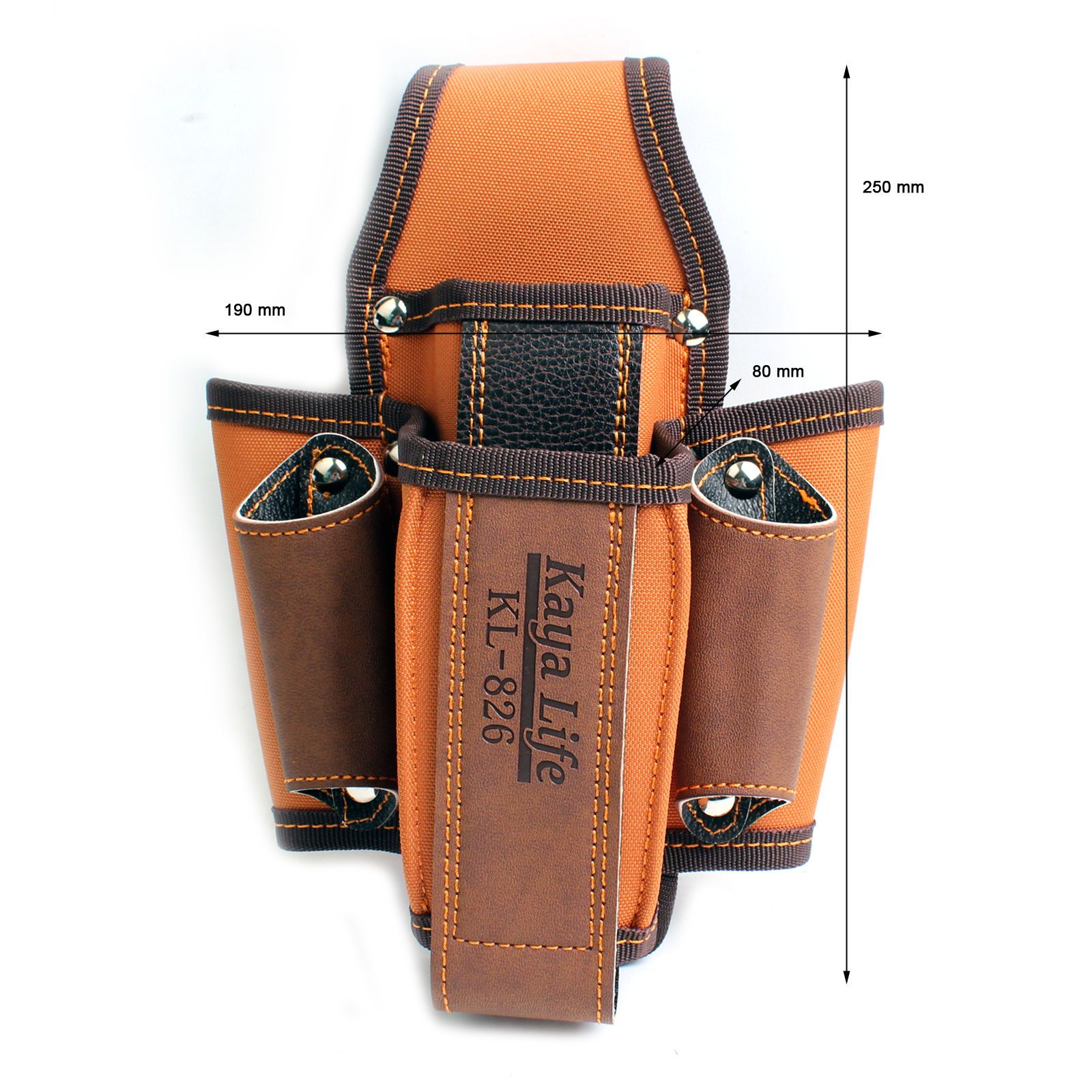 Multi-Purpose Tool Holder Pouch Tool Bag Pocket 6 KL-826 KOREA