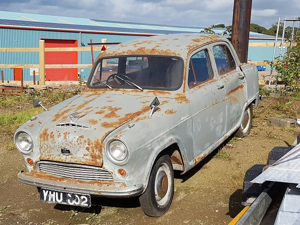 Austin a50 with images abandoned cars austin cars