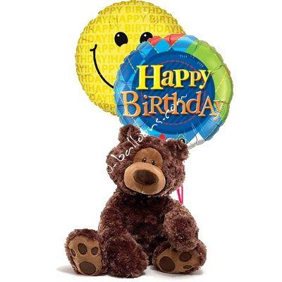 Snuggle Birthday Bear from 1-800-Balloons.com