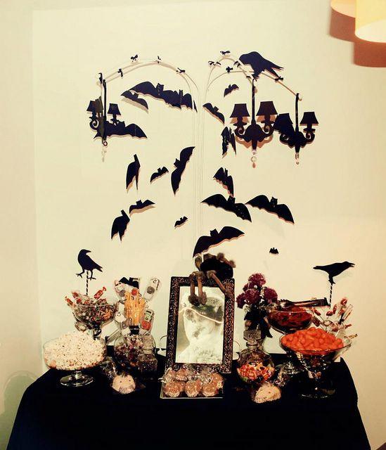 mesa de dulces halloween Mesas
