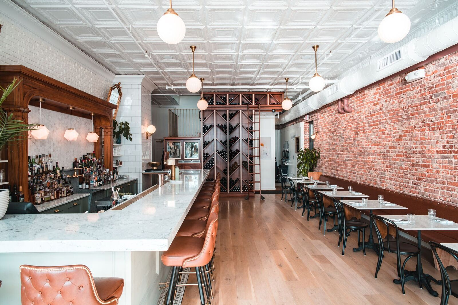 A 1914 Pharmacy Becomes A Restaurant In Davidson Nc