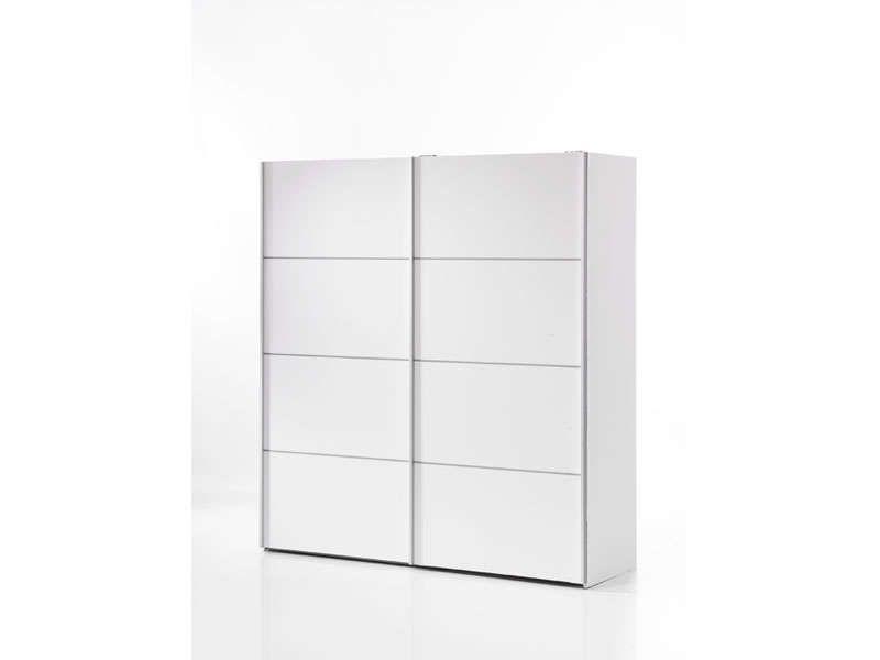 Armoire 2 portes coulissantes 180 cm   Pinterest